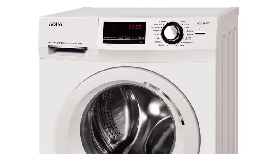 Máy giặt Aqua 8.5 kg AQD-850ZT giá tốt tại nguyenkim.com