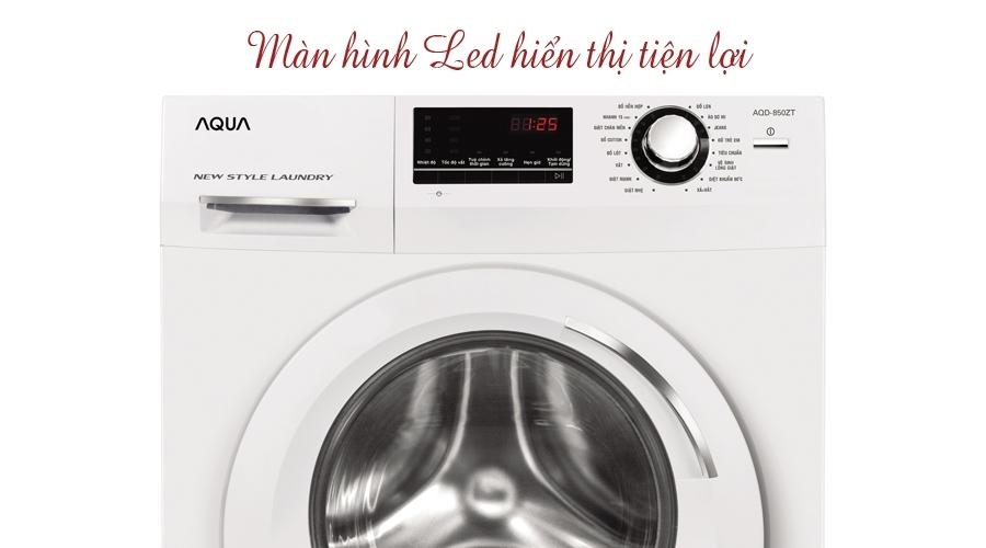 Mua máy giặt ở đâu tốt? Máy giặt Aqua 8.5 kg AQD-850ZT