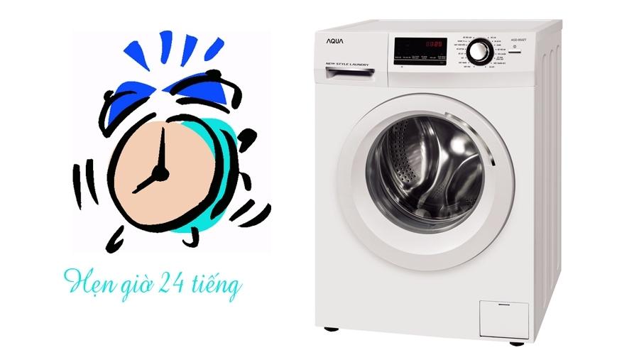 Máy giặt Aqua 8.5 kg AQD-850ZT có hẹn giờ 24 tiếng