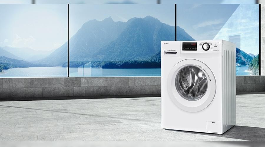Máy giặt Aqua 9.8 kg AQD-A980ZT bán trả góp 0% tại nguyenkim.com