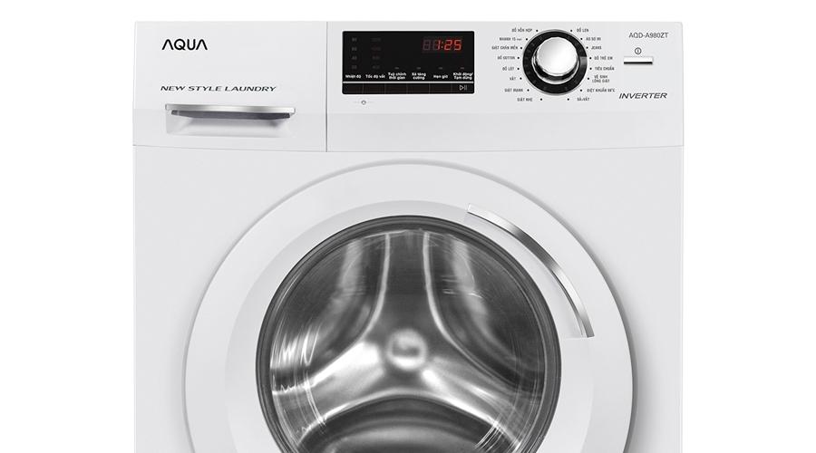 Máy giặt loại nào tốt? Máy giặt Aqua 9.8 kg AQD-A980ZT