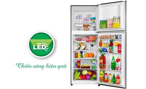 Tủ lạnh Aqua AQR-I315 299 lít dùng đèn LED chiếu sáng
