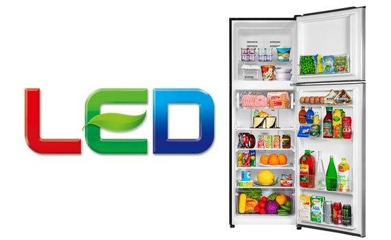 Tủ lạnh Aqua AQR-I340 326 lít dùng đèn LED chiếu sáng