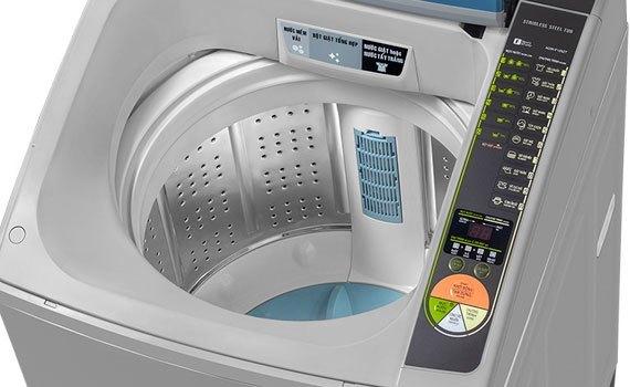 Mua máy giặt ở đâu tốt? Máy giặt Aqua AQW-F125ZT 12.5 kg bán trả góp 0% tại nguyenkim.com