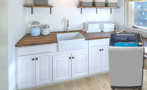 Máy giặt Aqua AQW-F125ZT 12.5 kg giá tốt tại nguyenkim.com