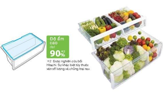 Tủ lạnh loại nào tốt? Tủ lạnh Hitachi R-V720PG1X 600 lít