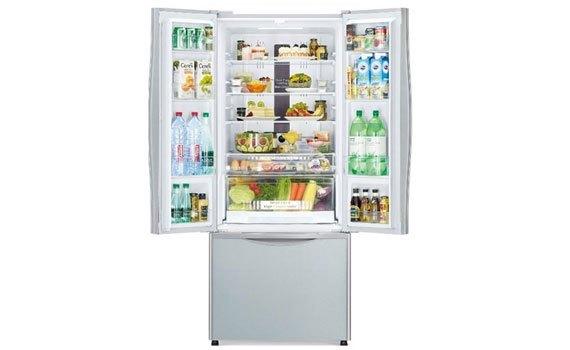Tủ lạnh loại nào tốt? Tủ lạnh Hitachi R-WB545PGV2 455 lít bạc