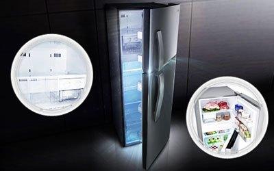 Tủ lạnh LG GN-L222BF có hệ thống đèn LED tiết kiệm điện