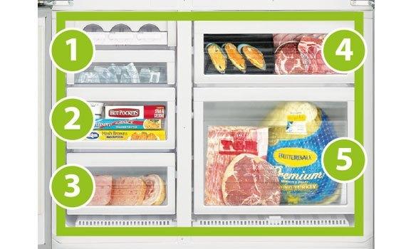 Tủ lạnh Mitsubishi Electric MR-L78EH 635 lít nâu sử dụng bền tốt