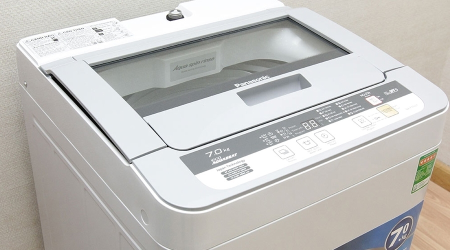 Máy giặt Panasonic 7 kg NA-F70VB7HRV bán trả góp 0% tại nguyenkim.com