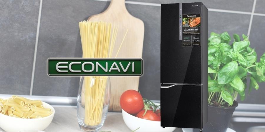 Tủ lạnh Panasonic 322 lít NR-BV368GKVN có cảm biến Econavi