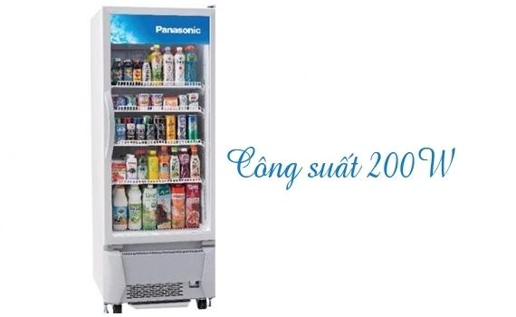 Tủ mát Panasonic SMR-PT250A 284 lít bán trả góp 0% tại nguyenkim.com