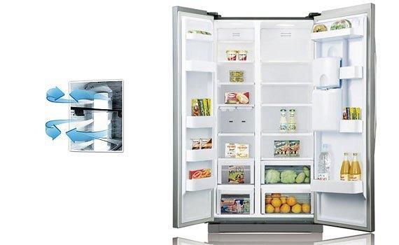 Tủ lạnh Samsung RSA1WTSL1 520 lít làm lạnh nhanh