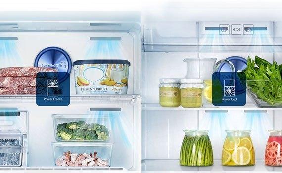 Tủ lạnh Samsung RT29K5532S8 295 lít làm lạnh nhanh hơn