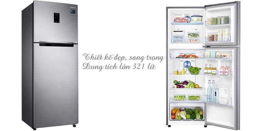 Tủ lạnh loại nào tốt? Tủ lạnh Samsung RT32K5532S8 321 lít