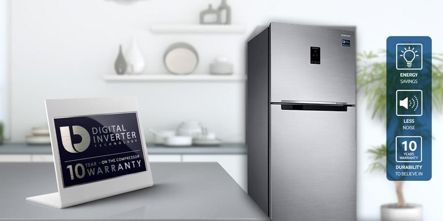 Tủ lạnh Samsung RT35K5532S8 362 lít tiết kiệm điện năng
