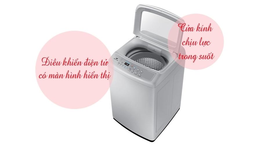 Máy giặt Samsung 7.2 kg WA72H4000SG bán trả góp 0% tại Nguyễn Kim