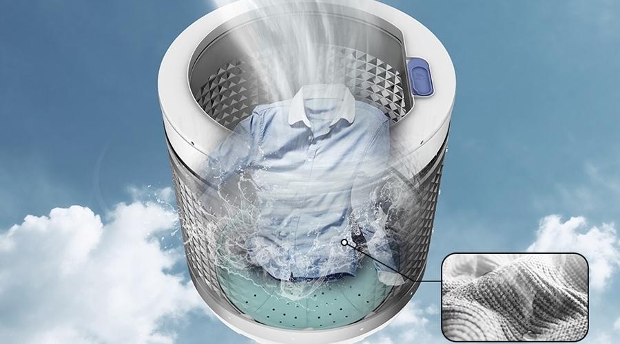 Mua máy giặt ở đâu tốt? Máy giặt Samsung 7.2 kg WA72H4000SG