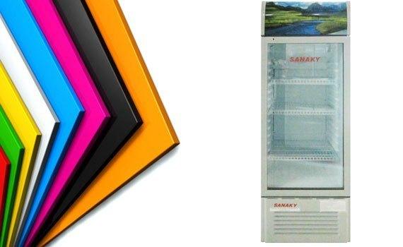 Tủ mát Sanaky VH-218K 179 lít có lòng tủ bằng nhựa ABS