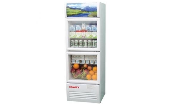 Tủ mát Sanaky VH-218W 170 lít giảm giá tại Nguyễn Kim