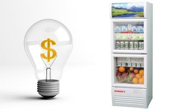 Tủ mát Sanaky VH-258W 200 lít tiết kiệm điện hiệu quả