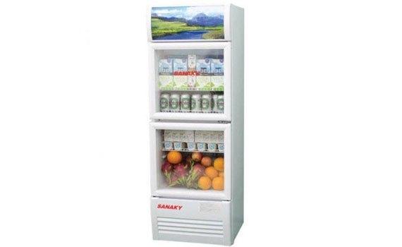 Tủ mát Sanaky VH-258W 200 lít giảm giá hấp dẫn tại nguyenkim.com