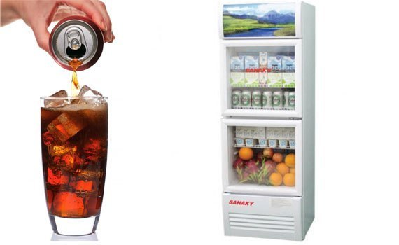 Tủ mát Sanaky VH-308W 240 lít bán trả góp tại nguyenkim.com