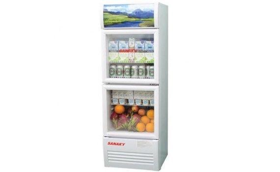 Tủ mát Sanaky VH-308W 240 lít giảm giá hấp dẫn tại nguyenkim.com