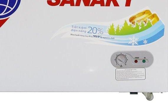 Tủ đông loại nào tốt? Tủ đông Sanaky VH-4099A1 400 lít