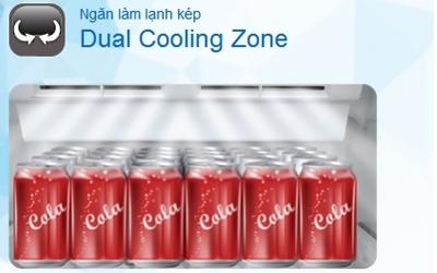 Tủ lạnh Toshiba GR-T39VUBZ(FS) 330 lít tiết kiệm điện đến 50%