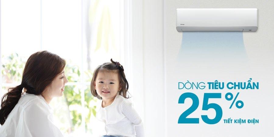 Máy lạnh Toshiba RAS-H24S3KS-V 2.5 HP tiết kiệm điện năng