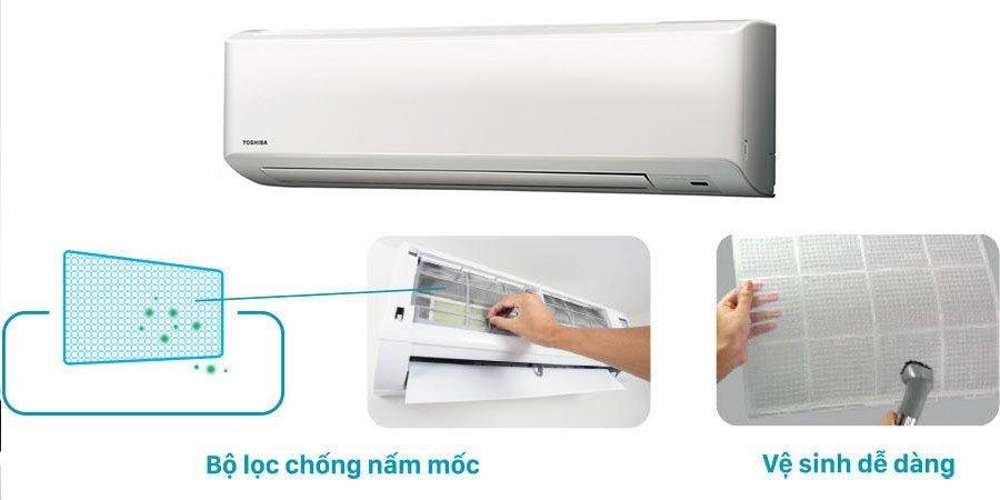 Máy lạnh Toshiba RAS-H24S3KS-V 2.5 HP giảm giá tại nguyenkim.com
