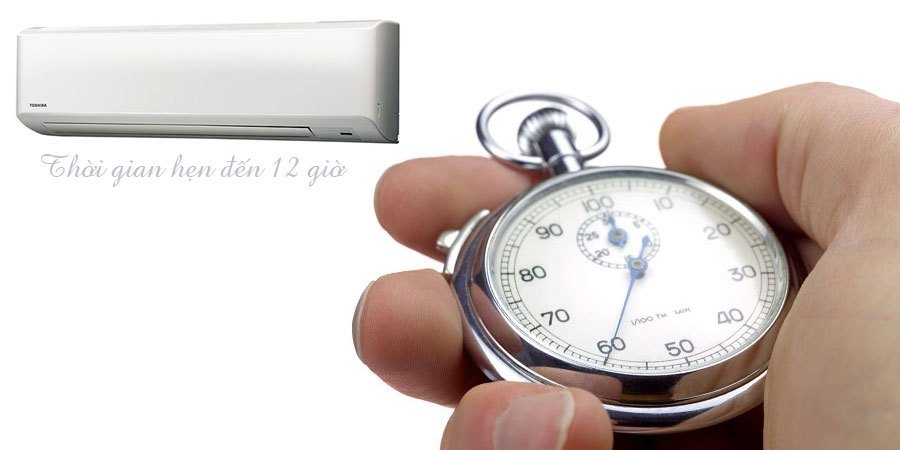 Máy lạnh Toshiba RAS-H24S3KS-V 2.5 HP chức năng hẹn giờ