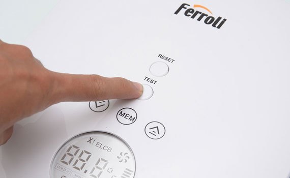 Máy nước nóng Ferroli Divo SDP 4.5S hiệu suất hoạt động cao, tiết kiệm điện