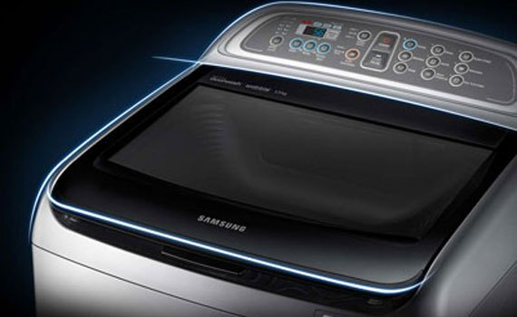 Máy giặt hãng nào tốt? Máy giặt Samsung WA90J5710SG 9 kg