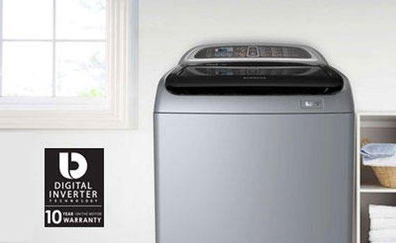 Máy giặt Samsung WA90J5710SG 9 kg chính hãng chất lượng tốt