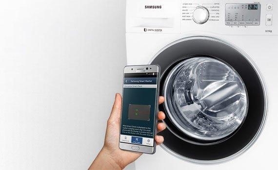 Mua máy giặt Samsung WW75J4233GS 7.5 kg trả góp 0% tại nguyenkim.com