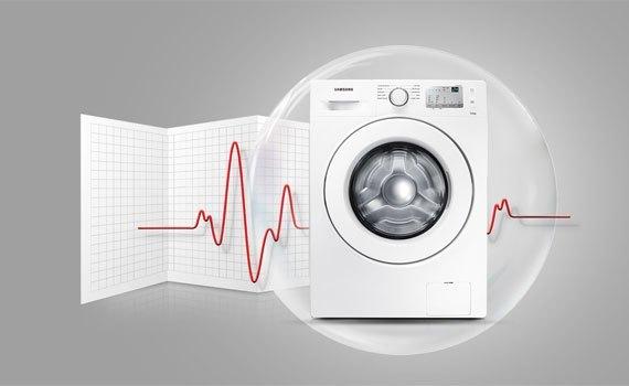 Máy giặt Samsung WW75J4233GS 7.5 kg chính hãng chất lượng tốt
