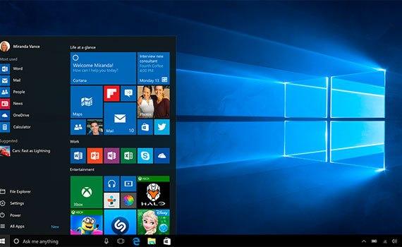 Máy tính xách tay Dell XPS 13 9343 chạy nền tảng Windows 10