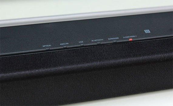 Dàn âm thanh Sony HT-CT80 thiết kế dạng thanh hiện đại