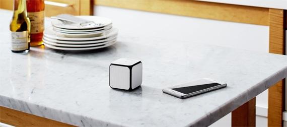 Loa Sony mini SRS-X11 màu trắng kết nối không dây bluetooth
