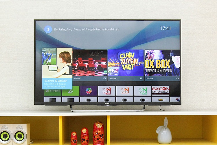 Tivi LED Sony 55W800C với công nghệ hình ảnh X-Reality PRO