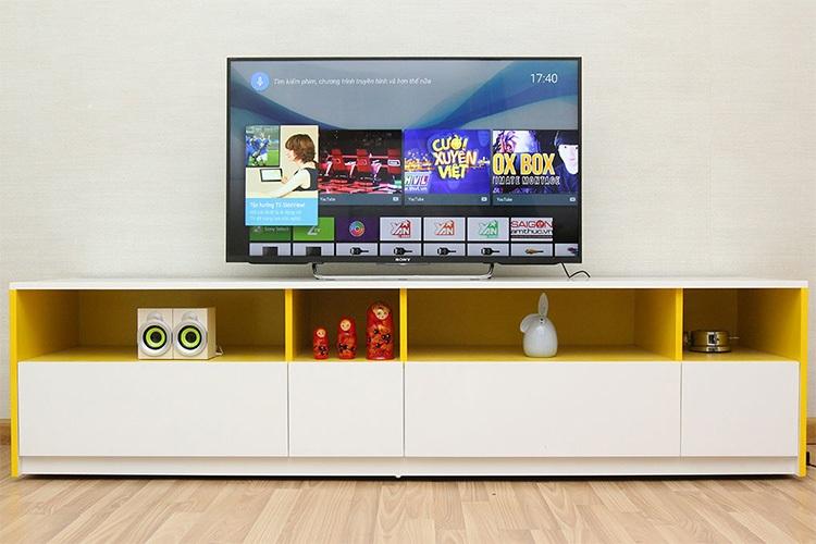 Tivi LED Sony 55W800C tích hợp công nghệ 3D chủ động