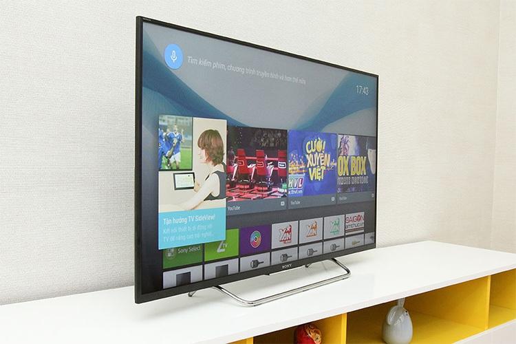 Tivi LED Sony 55W800C là smart tivi Sony 55 inch