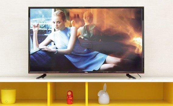 Tivi LED TCL L50D2700 có kích thước 50 inches
