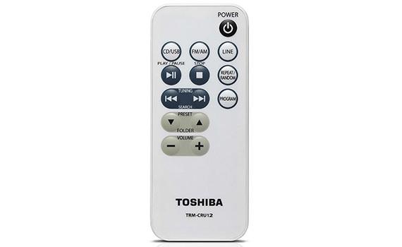 Máy cassette Toshiba TY-CRU12 có điều khiển từ xa
