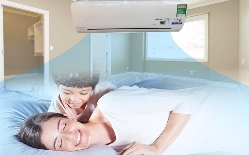Máy lạnh có tính năng giữ ẩm hạn chế gây khô da