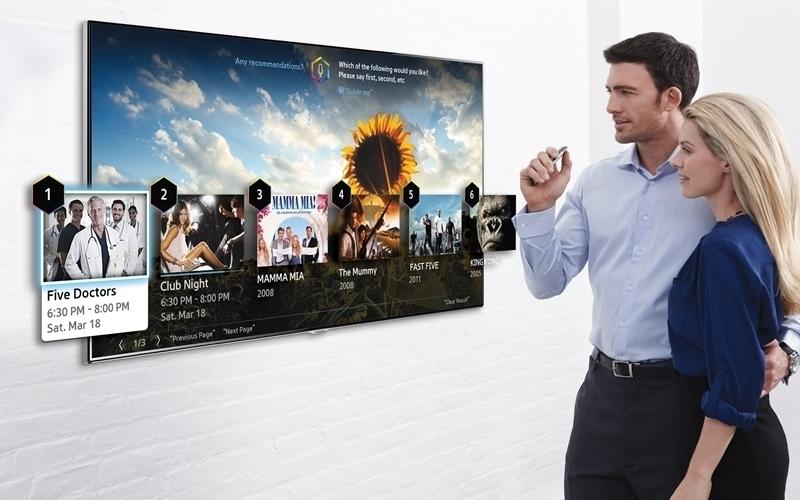 Điều khiển Smart tivi Samsung bằng giọng nói