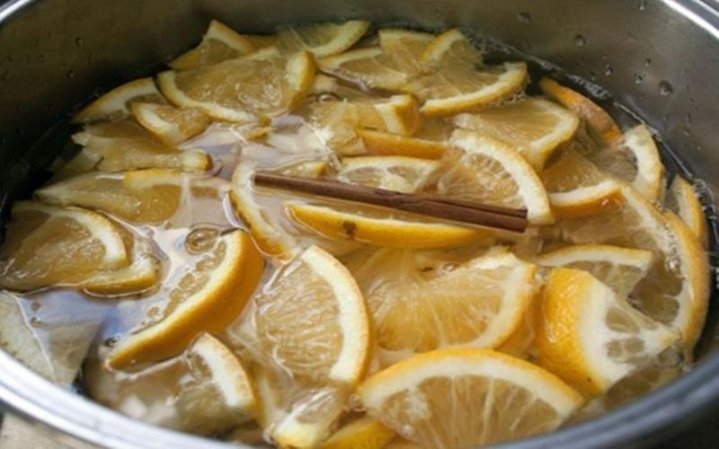 Không gian bếp trở nên thông thoáng hơn với tinh dầu cam quýt