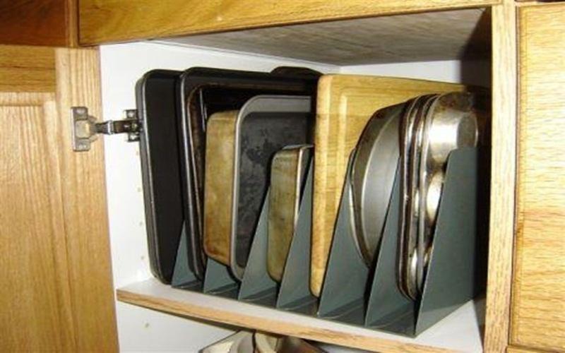 Tiết kiệm không gian bếp tuyệt đối với cách này